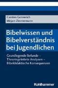 Cover-Bild zu Gennerich, Carsten: Bibelwissen und Bibelverständnis bei Jugendlichen