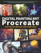 Cover-Bild zu Digital Painting mit Procreate von Grünewald, Simone