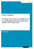 Cover-Bild zu Fotoblogs - Eine Analyse der Erfolgskriterien mit umfragegestützter Pageoptimierung anhand eines Private Blog von Winkler, Stephanie Julia