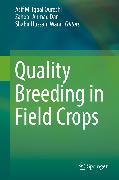 Cover-Bild zu Quality Breeding in Field Crops (eBook) von Wani, Shabir Hussain (Hrsg.)