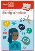 Cover-Bild zu Klein, Ute: miniLÜK. 3. Klasse - Deutsch: Richtig schreiben