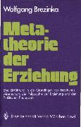Cover-Bild zu eBook Metatheorie der Erziehung