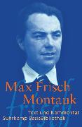 Cover-Bild zu Montauk von Frisch, Max
