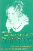 Cover-Bild zu Die Judenbuche von Droste-Hülshoff, Annette von