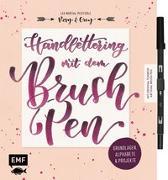 Cover-Bild zu Handlettering mit dem Brush Pen: Grundlagen, Alphabete und Projekte von Martial-Pfefferle, Lea