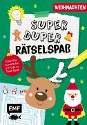Cover-Bild zu Super-duper-Rätselspaß - Weihnachten