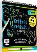 Cover-Bild zu Mein Kritzel-Kratzel-Malbuch - Tiere
