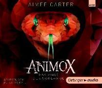 Cover-Bild zu Animox 02. Das Auge der Schlange (4 CD) von Carter, Aimee