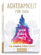 Cover-Bild zu Achtsamkeit für dich - 50 Karma-Kärtchen