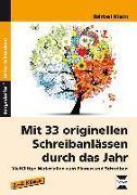 Cover-Bild zu Mit 33 originellen Schreibanlässen durch das Jahr von Klein, Bärbel
