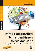 Cover-Bild zu Mit 33 originellen Schreibanlässen durch das Jahr (eBook) von Klein, Bärbel