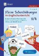 Cover-Bild zu Kleine Schreibübungen im Englischunterricht 3/4 von Krygiel, Alina