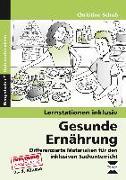 Cover-Bild zu Gesunde Ernährung von Schub, Christine