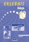 Cover-Bild zu Erlebnis Biologie 10. Arbeitsheft. Mittelschule. Sachsen