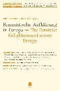 Cover-Bild zu Feministische Aufklärung in Europa / The Feminist Enlightenment across Europe (eBook) von Becker-Cantarino, Barbara (Beitr.)