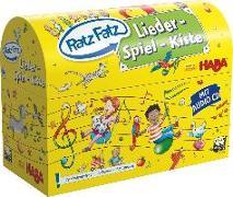 Cover-Bild zu Ratz Fatz Lieder-Spiel-Kiste von Bücken, Hajo
