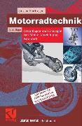 Cover-Bild zu Motorradtechnik (eBook) von Stoffregen, Jürgen