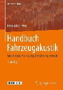 Cover-Bild zu Handbuch Fahrzeugakustik (eBook) von Zeller, Peter (Hrsg.)
