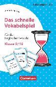 Cover-Bild zu Das schnelle Vokabelspiel, Englisch, Klasse 9/10, Für den Englischunterricht, 30 Lernkarten von Reinhardt, Irena