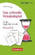Cover-Bild zu Das schnelle Vokabelspiel, Englisch, Klasse 5/6, Für den Englischunterricht, 30 Lernkarten von Reinhardt, Irena