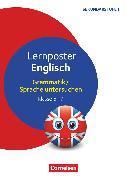 Cover-Bild zu Lernposter für die Sekundarstufe, Klasse 5-7, Englisch - Grammatik / Sprache untersuchen, 4 Poster von Reinhardt, Irena