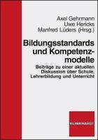 Cover-Bild zu Bildungsstandards und Kompetenzmodelle von Albisser, Stefan