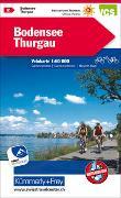Cover-Bild zu Hallwag Kümmerly+Frey AG (Hrsg.): Bodensee Thurgau Nr. 02 Velokarte 1:60 000. 1:60'000