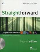 Cover-Bild zu Straightforward 2nd Edition Upper Intermediate Level Workbook with key & CD Pack von Kerr, Philip