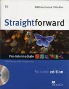 Cover-Bild zu Straightforward 2nd Edition Pre-Intermediate Level Workbook with key & CD Pack von Kerr, Philip