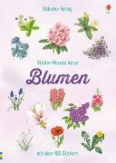 Cover-Bild zu Sticker-Wissen Natur: Blumen von Miles, Lisa