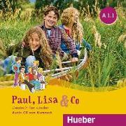 Cover-Bild zu Paul, Lisa & Co A1/1 - Audio-CD von Bovermann, Monika