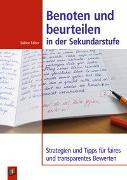 Cover-Bild zu Benoten und beurteilen in der Sekundarstufe von Falter, Sabine