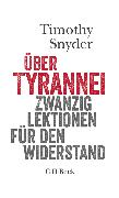 Cover-Bild zu Über Tyrannei (eBook) von Snyder, Timothy
