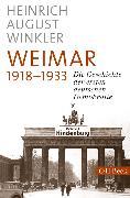 Cover-Bild zu Weimar 1918-1933 (eBook) von Winkler, Heinrich August