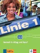 Cover-Bild zu Linie 1 A2.2. Kurs- und Übungsbuch mit DVD-ROM von Dengler, Stefanie