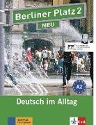 Cover-Bild zu Berliner Platz 2 NEU - Lehr- und Arbeitsbuch 2 mit 2 Audio-CDs von Lemcke, Christiane