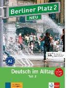 """Cover-Bild zu Berliner Platz 2 NEU in Teilbänden - Lehr- und Arbeitsbuch 2, Teil 2 mit Audio-CD und """"Im Alltag EXTRA"""" von Lemcke, Christiane"""