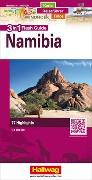 Cover-Bild zu Hallwag Kümmerly+Frey AG (Hrsg.): Namibia Flash Guide Strassenkarte 1:1 Mio. 1:1'000'000