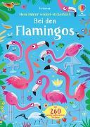 Cover-Bild zu Mein Immer-wieder-Stickerbuch: Bei den Flamingos von Robson, Kirsteen