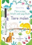 Cover-Bild zu Mein erstes Wisch-und-weg-Buch: Tiere malen von Robson, Kirsteen