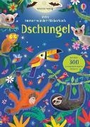 Cover-Bild zu Mein Immer-wieder-Stickerbuch: Dschungel von Robson, Kirsteen
