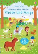 Cover-Bild zu Mein Immer-wieder-Stickerbuch: Pferde und Ponys von Robson, Kirsteen