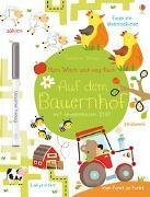 Cover-Bild zu Mein Wisch-und-weg-Buch: Auf dem Bauernhof von Robson, Kirsteen