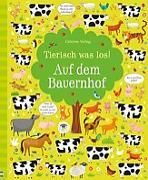 Cover-Bild zu Tierisch was los! Auf dem Bauernhof von Robson, Kirsteen
