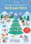 Cover-Bild zu Mein Immer-wieder-Stickerbuch: Weihnachten von Robson, Kirsteen