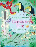 Cover-Bild zu Mein Wisch-und-weg-Buch: Exotische Tiere von Robson, Kirsteen