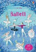 Cover-Bild zu Mein Immer-wieder-Stickerbuch: Ballett von Robson, Kirsteen