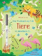 Cover-Bild zu Mein Wisch-und-weg-Buch: Tiere von Robson, Kirsteen