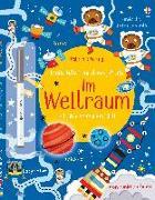 Cover-Bild zu Mein Wisch-und-weg-Buch: Im Weltraum von Robson, Kirsteen