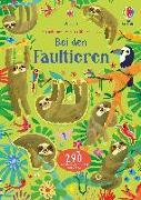 Cover-Bild zu Mein Immer-wieder-Stickerbuch: Bei den Faultieren von Robson, Kirsteen